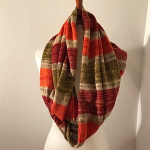 Autumn Color Infinity Scarf